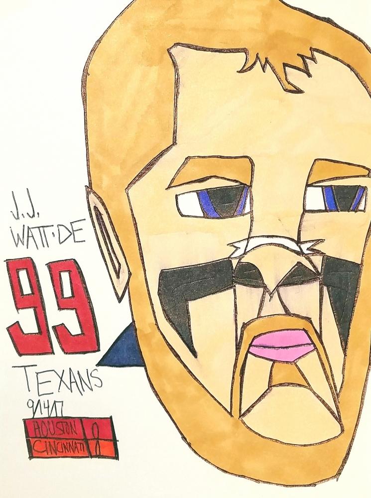 J. J. Watt by armattock
